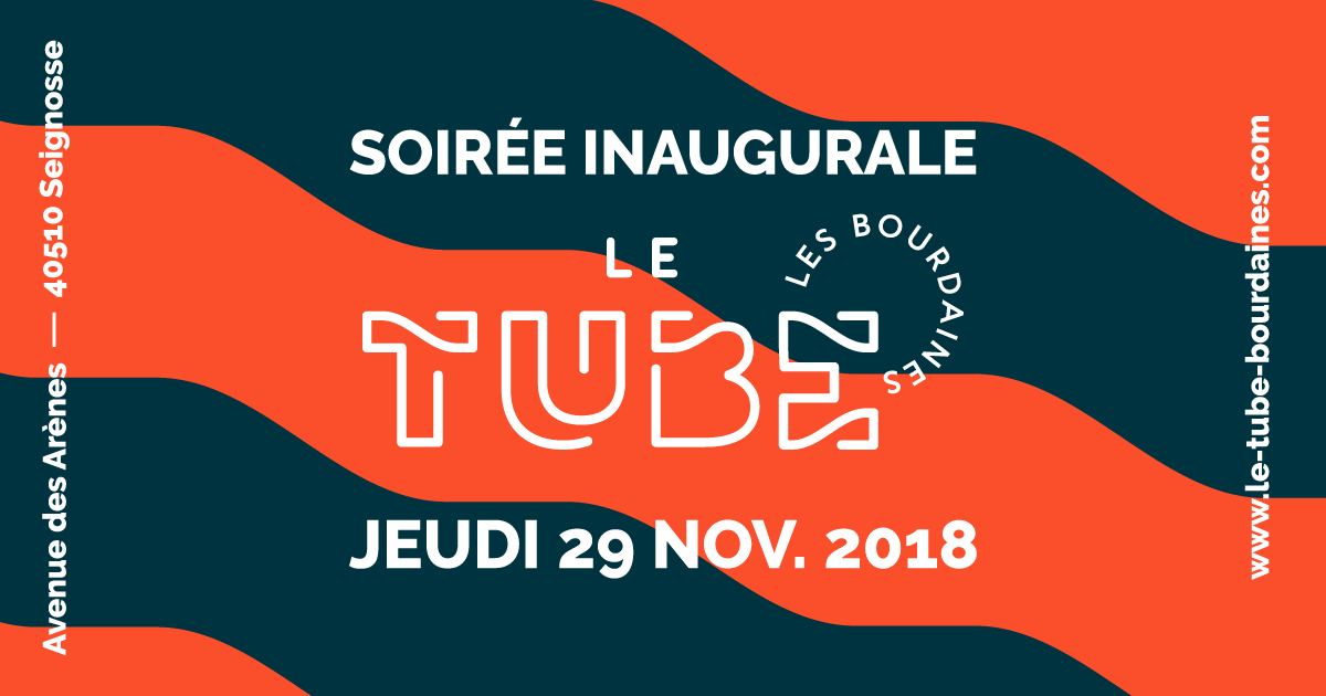 Le Tube inauguration Seignosse